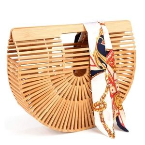 Bamboo Purse or Handbag
